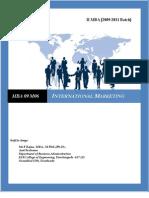 International Marketing for MBA