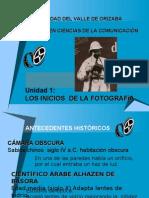 Antecedentes de la fotografía