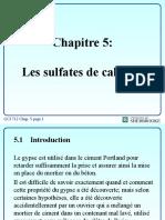 Chap5 Les Sulfates de Calcium
