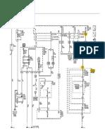 GM Sonic - Partida - Diagrama elétrico