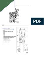 VW Jetta Unidade de controle para eletrônica da coluna de direção J527 - Local e pinout