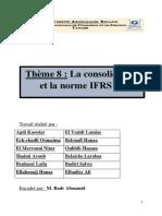 Theme 8 La consolidation et l IFRS 12 (1)