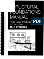 Structural Foundation Manual for Low-Rise Buildings by Atkinson