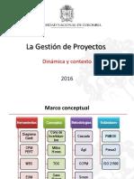 2 Dinámica y contexto Gestión de Proyectos Guillermo Ospina