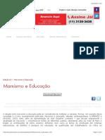 Saviani (2006). Marxismo e Educação.
