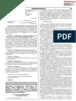 Resolución Ministerial N° 0106-2021-JUS que autoriza transferencia financiera del Pliego 006