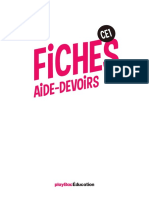 Mes fiches aide-devoirs - CE1
