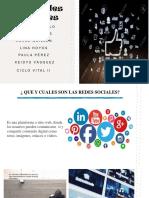 Las Redes Sociales- Ciclo Vital II.