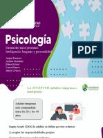 Desarrollo en La Juventud Inteligencia Lenguaje y Personalidad