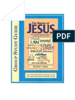 NAMES OF JESUS STUDY GUIDE