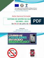 Formação ISO 9001 2015
