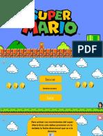 Super Mario Bros (Lee Oraciones) .Pptx Juego
