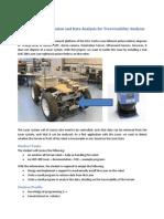 Laser Scanner Installation and Data Analysis for Traversability Analysis