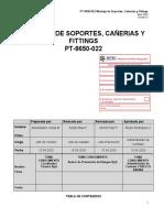 PT-9650-022_0 Montaje de Soportes Cañerias y Fittings