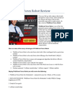 WallStreet Forex Robot Review   Real Trader Unbiased Review