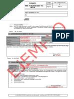 Informe de Actividades Del CM Y CTM-EJEMPLO
