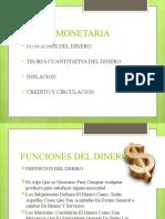 Teoría monetaria