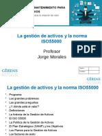 La gestión de activos y la norma ISO55000 JMorales
