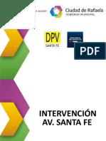 MdR - Intervención en AV Santa Fe