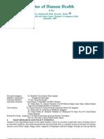 Eloor Industrial Health  Study- Research Adviser-Dr. Rajan R Patil