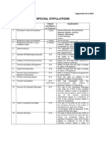 Tender Document Motorway Police