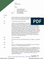 Kenneth Manzanares Transcript of Police Interview