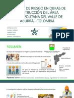 FACTORES DE RIESGO EN OBRAS DE CONSTRUCCIÓN