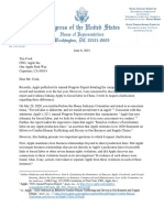 (DAILY CALLER OBTAINED) -- 06.08.2021 Letter to Tim Cook Re Forced Labor