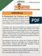 Jornal O Piauiense - 3ª Edição