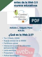 Herramientas de la Web 2.0 como recursos educativos