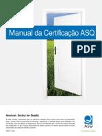 Manual Certificação ASQ