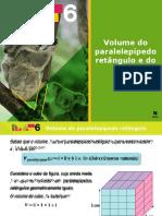 Volume do paralelepípedo retângulo e do cubo