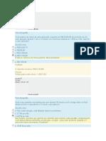 Simulado de Matemática Financeira - 2
