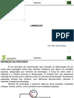 3 - Laminacao