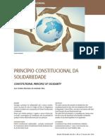 Princípio Constitucional da SOLIDARIEDADE