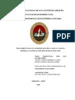 """Microsoft Word - Tesis - """"Tratamiento de Aguas Residuales Del Camal La Colina – Pedregal Usando El Método de Reactor UASB"""""""