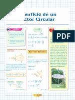 5.- Superficie de un sector circular