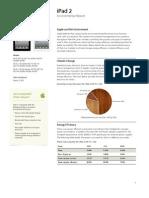 Der Apple iPad 2 Umweltreport