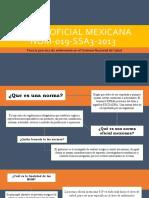 Norma Oficial Mexicana Nom 019 Ssa3 2013