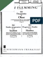 Flemming Oboenduette Band 1