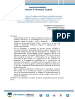 Informe estudio longitudinal monitorías
