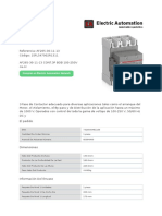 FICHAT-CONTACTOR_ABB_ SERIE_AF265
