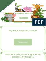 Comparto 'Jugando a Adivinar Animales' Con Usted (1)