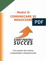Start pentru succes Modul D