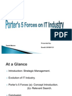 Porter's 5 Forces on IT Industry
