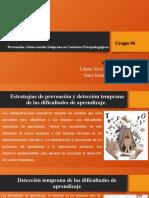 UNIDAD VI Prevención e Intervención Temprana en Contextos