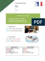CLASSE 13- PARLER DE SES ACTIVITÉS