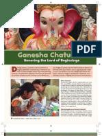 Ganesha Chaturthi Hindu Festival