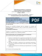 Guía de actividades y Rúbrica de evaluación - Etapa 1 – Conceptos básicos de modelos de negocios