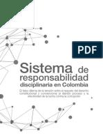 Sistema de responsabilidad disciplinarias en Colombia